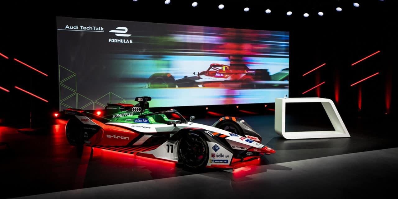 Audi e-tron FE07 for Formula E World Championship