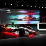 Audi e-tron FE07 for Formula E World Championship