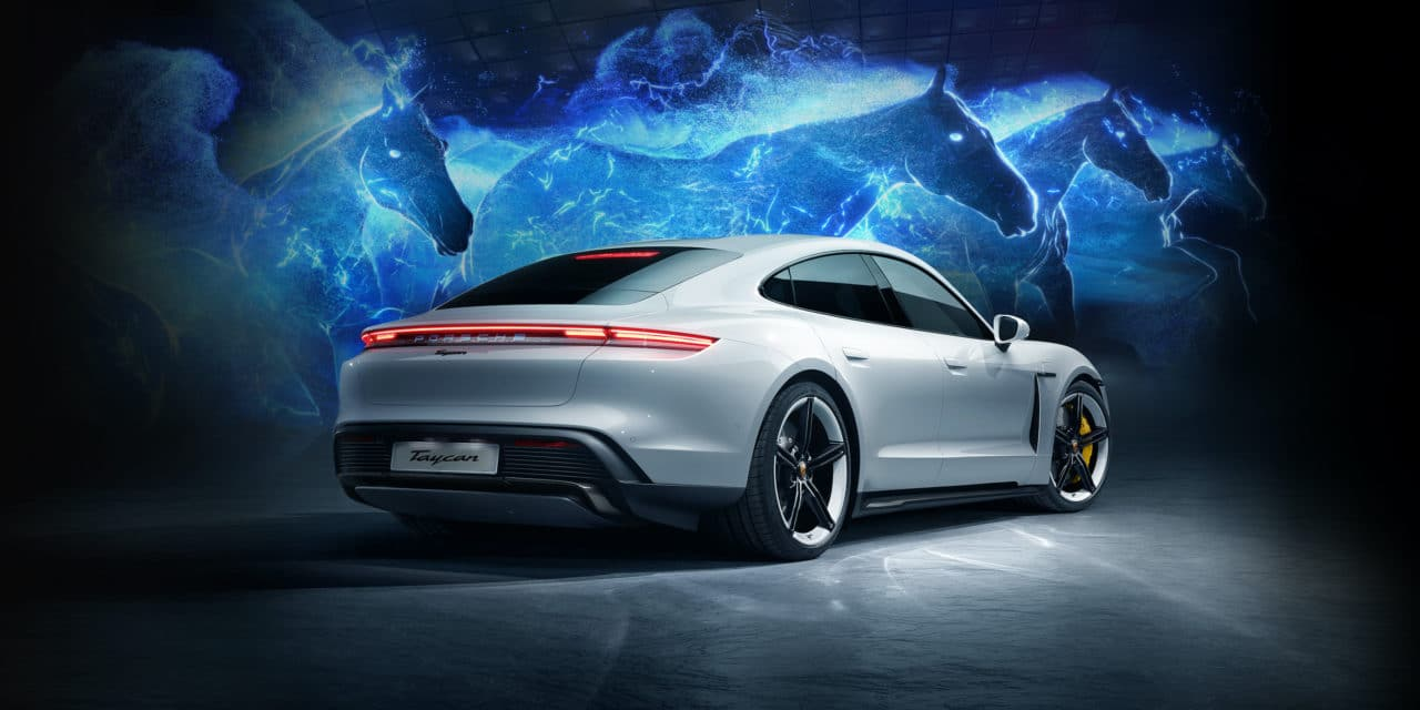 Porsche Taycan Launches in Korea with breath-taking hologram show