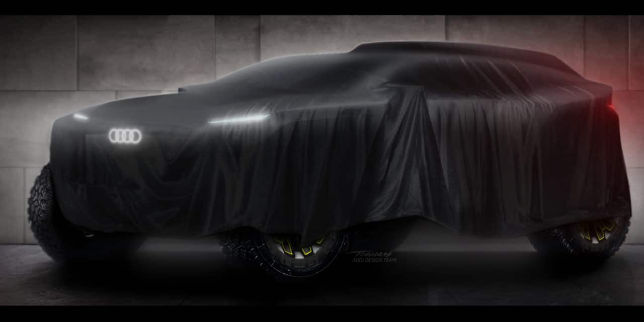 Audi Teases With Dakar Rally Prototype