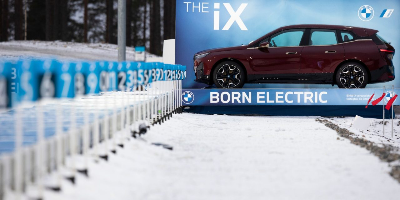 'Born Electric': The BMW iX to take Center Stage