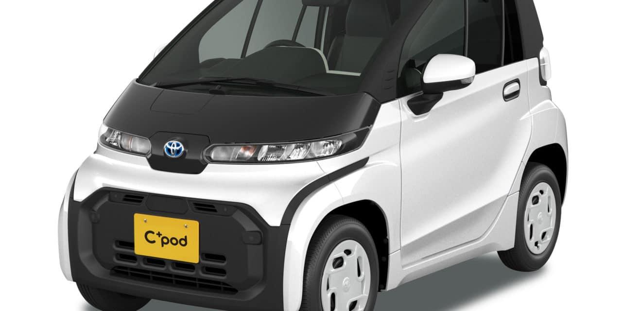 Toyota Debuts New Tiny EV in Japan: C+pod