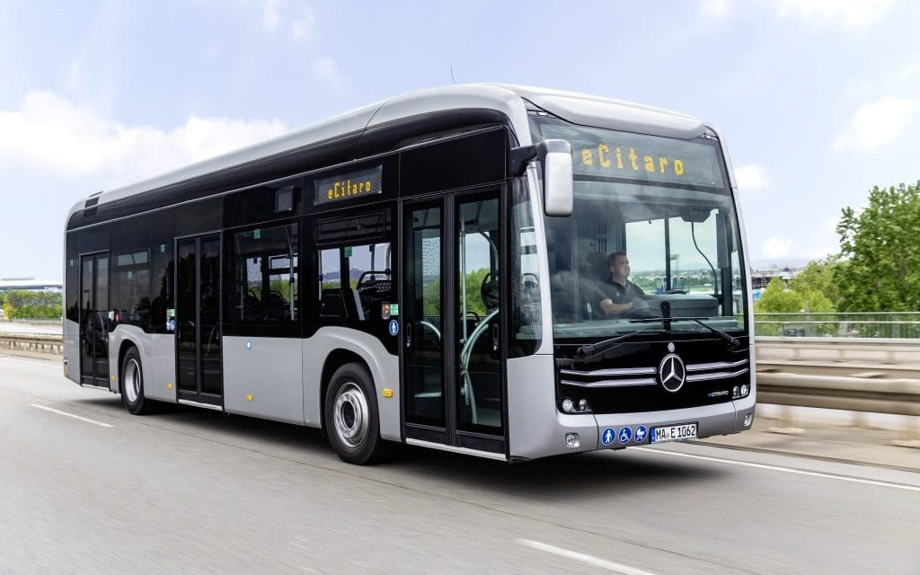 Bremen Orders Five Mercedes-Benz eCitaro Buses with Solid-State Batteries