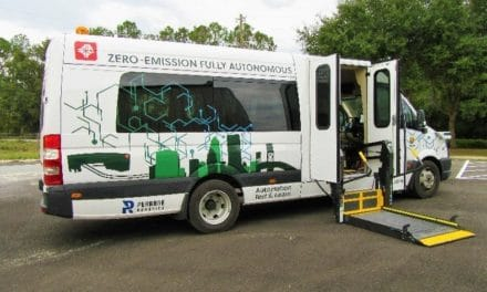 GreenPower and Perrone Robotics Deliver Nation's First Fully Autonomous EV Star to Jacksonville Transportation Authority