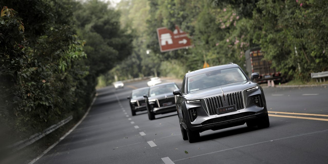 Hongqi E-HS9 Gain Attention with World-Class Quality