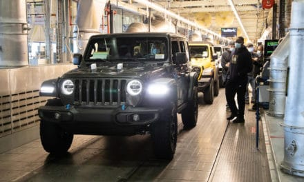 2021 Jeep® Wrangler 4xe to be Built at Toledo Assembly Plant