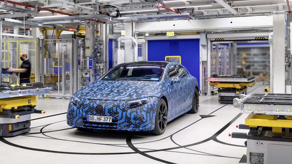 Mercedes-Benz to Launch Six New Electric Vehicles by 2022