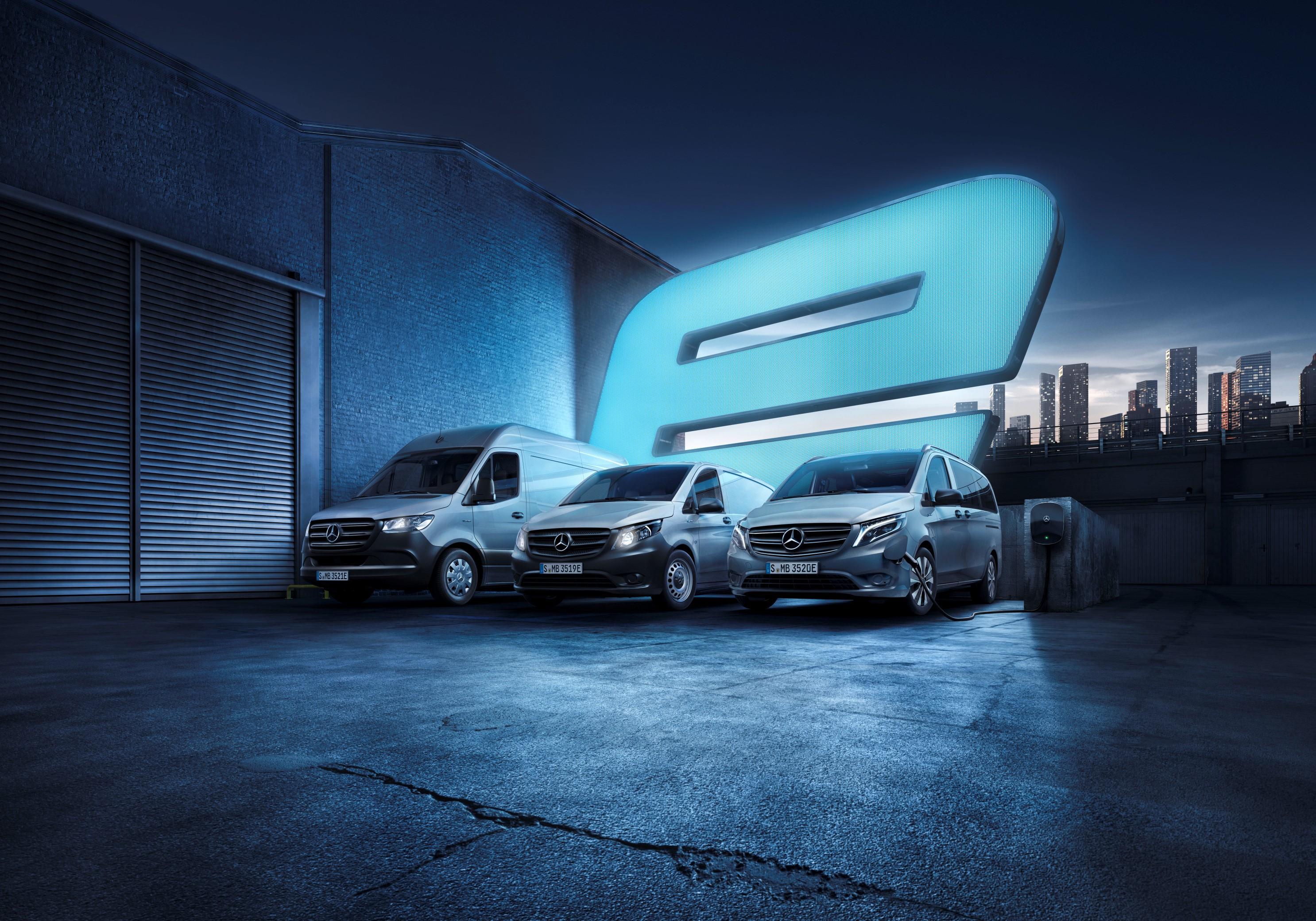 Mercedes-Benz Offers Insurance Geared Toward Electric Vans