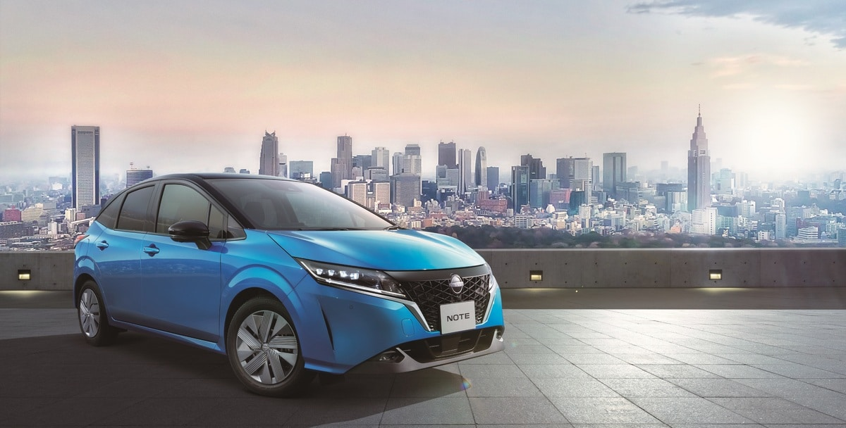 Nissan Launches All-New Note in Japan