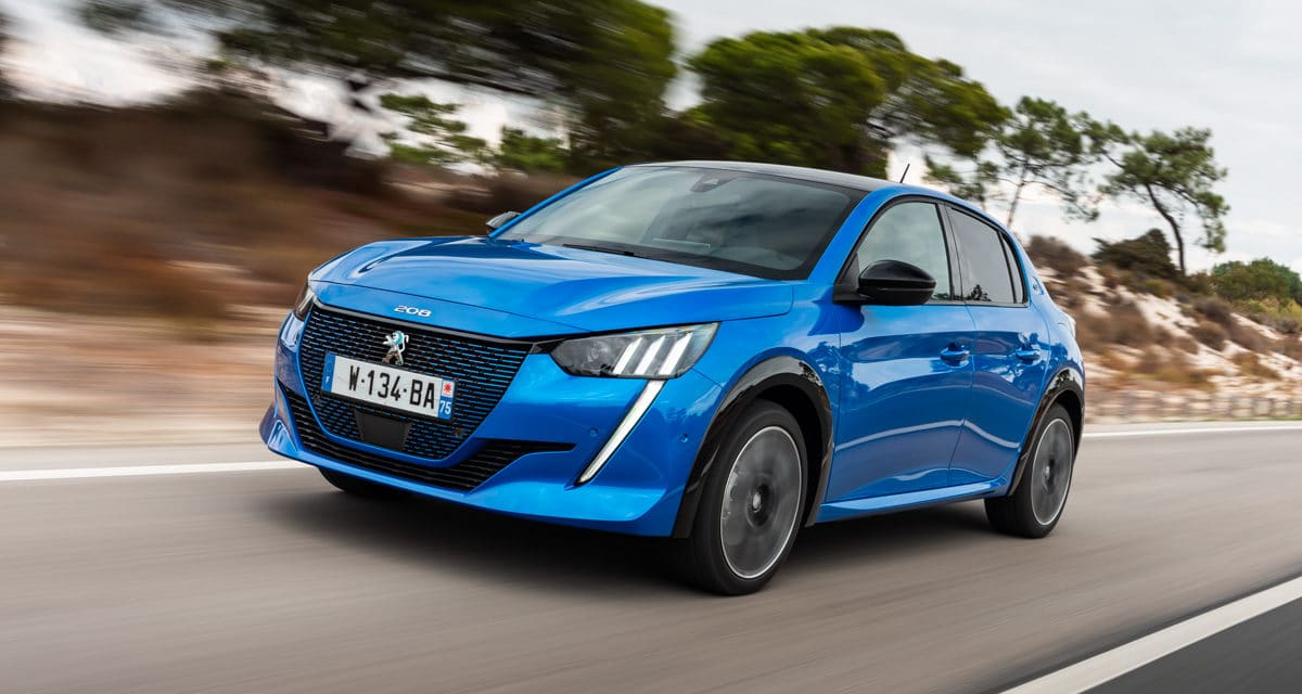 PEUGEOT e-208 GT is Top of the Range