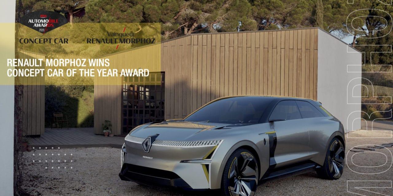 Renault MORPHOZ Wins Concept Car of the Year Award