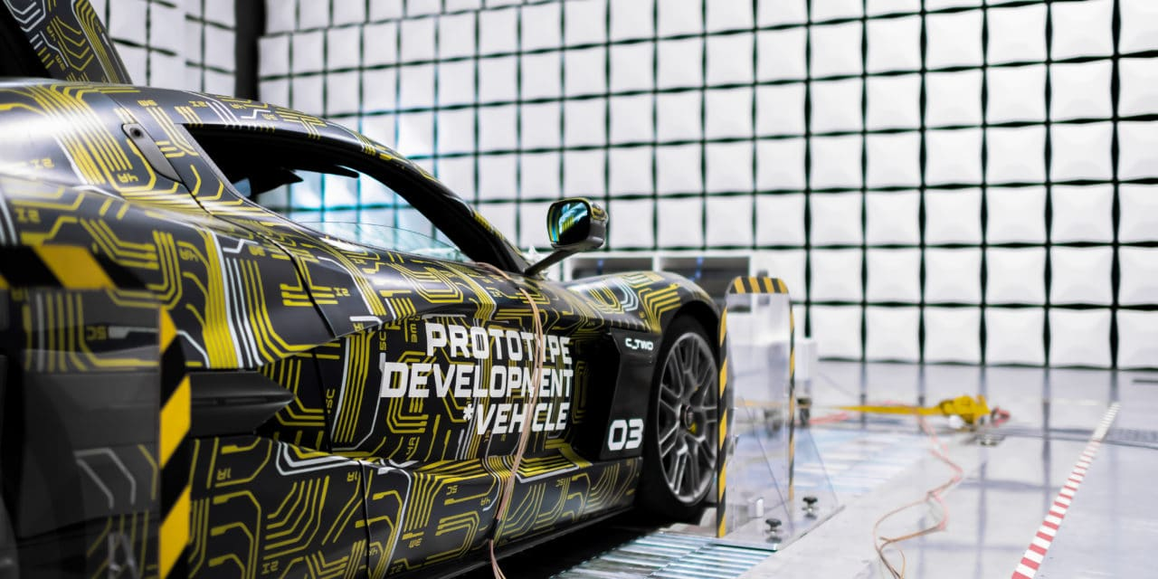 Rimac C_Two ElectroMagnetic Compatibility Testing