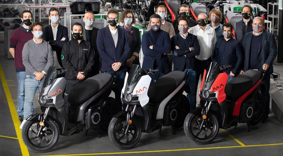 First Electric Motorbike From SEAT