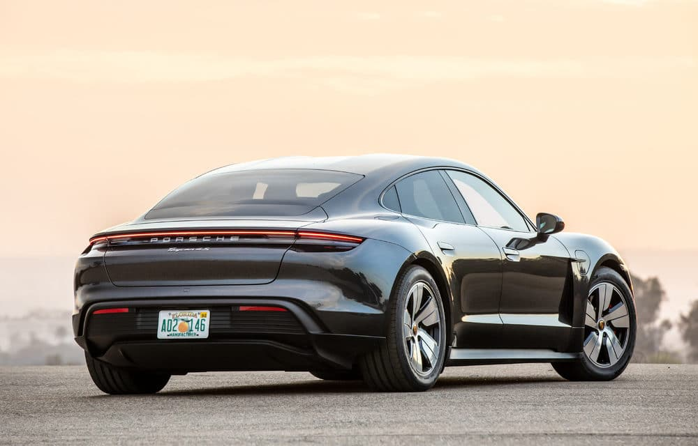Porsche Taycan Enjoying First Year on American Roads