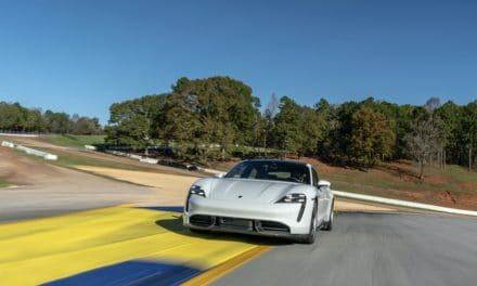 Taycan Turbo S Sets Production EV Lap Time