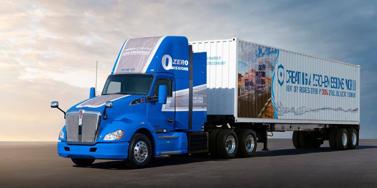 Toyota Showcases Fuel Cell Electric Technology for Heavy Duty Trucks