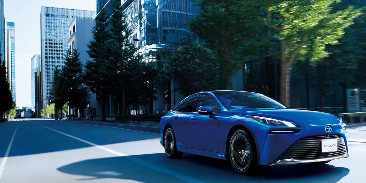 Toyota Announces Launch of New Mirai