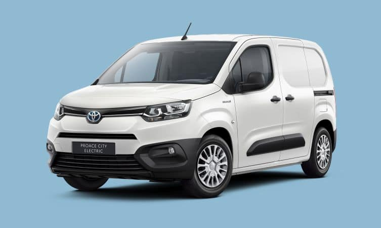 Toyota Announces Proace City Electric Compact Van