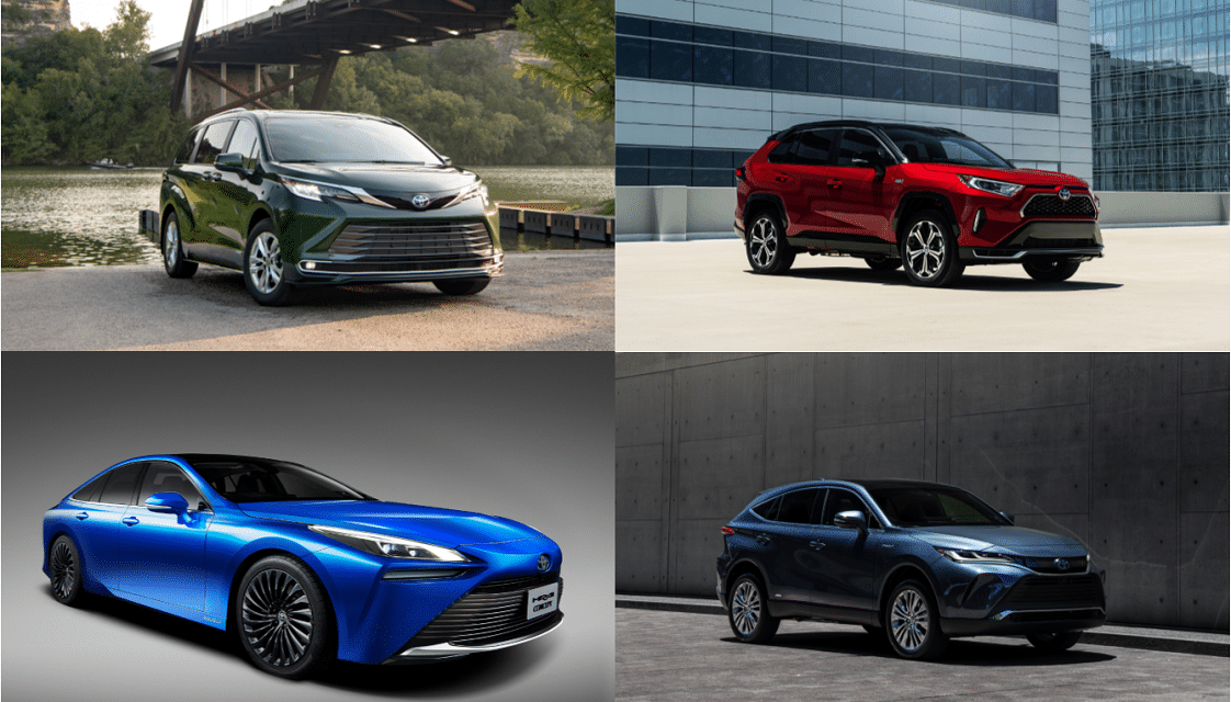 Toyota Hybrids and Fuel cell Among Best New Automotive Technology of 2021