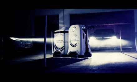 Mobile Charging Robot from Volkswagen