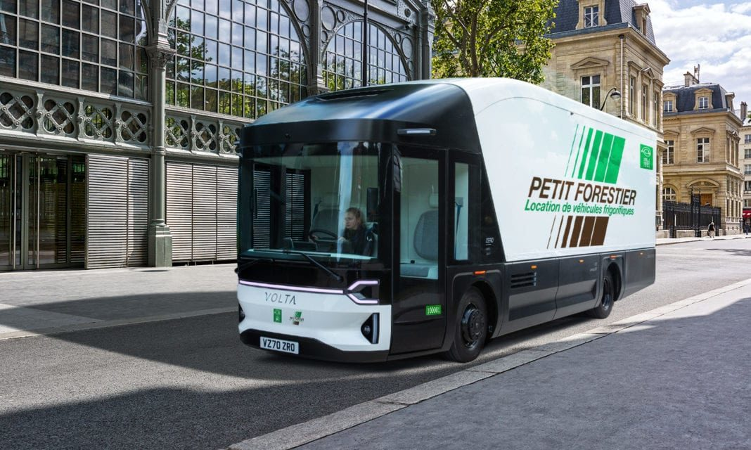 Volta Trucks and the Petit Forestier Group to Develop Fleet of Zero Emission Refrigerated Vehicles