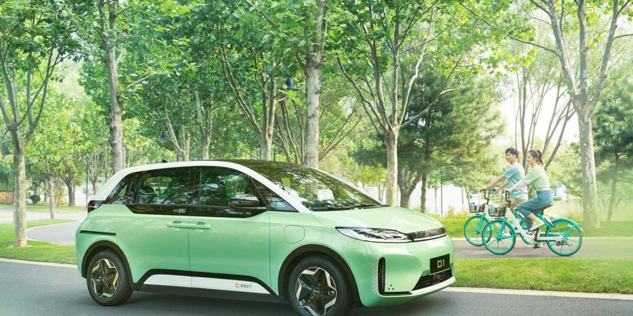 BYD D1 to be Ride-hailing EV for Mobile Energy Global