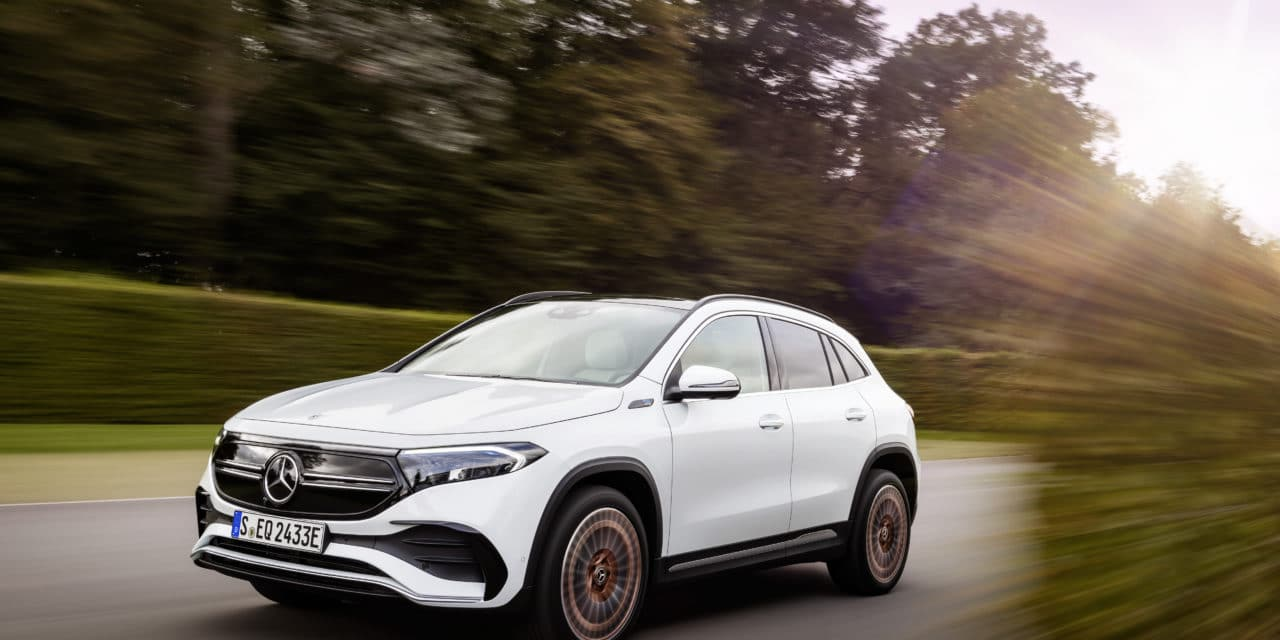 EQA: New Mercedes Entry-Level Electric Vehicle
