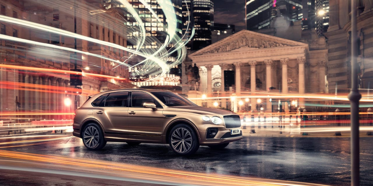 Bentley Introduces New Bentayga Hybrid