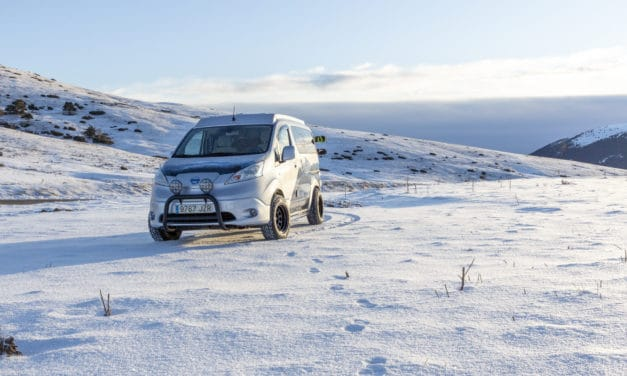 Nissan e-NV200: The All-Electric Winter Camper