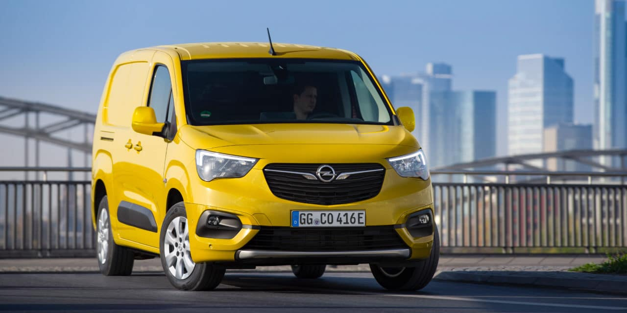 Uncompromising E-Mobility: New Opel Combo-e Compact Van