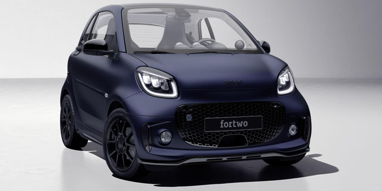 Just the Two of Us: smart EQ fortwo edition bluedawn