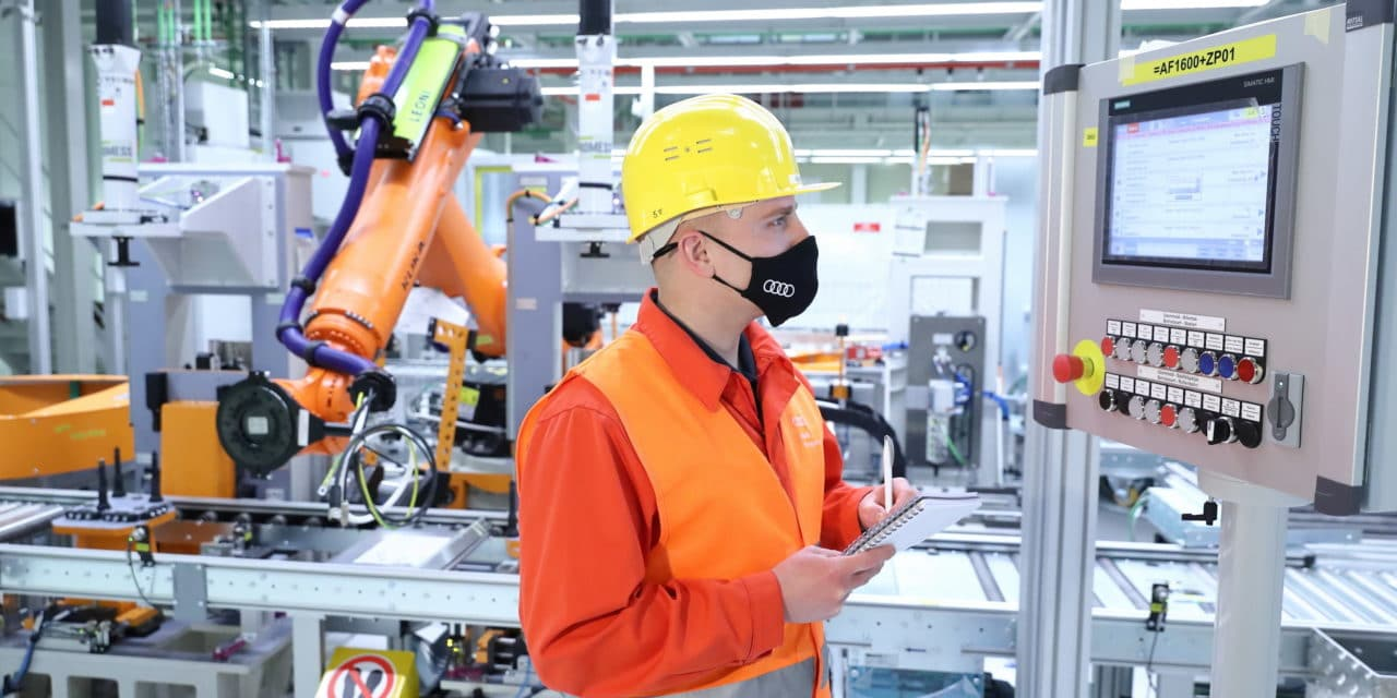 Audi Hungaria Produces e-Motors for Future PPE Model Generation