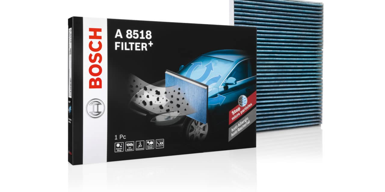 Bosch Cabin Filters for Electric Vehicles