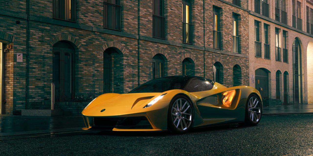 Lotus Evija All-Electric Hyper Car Earns Product Design of the Year Award