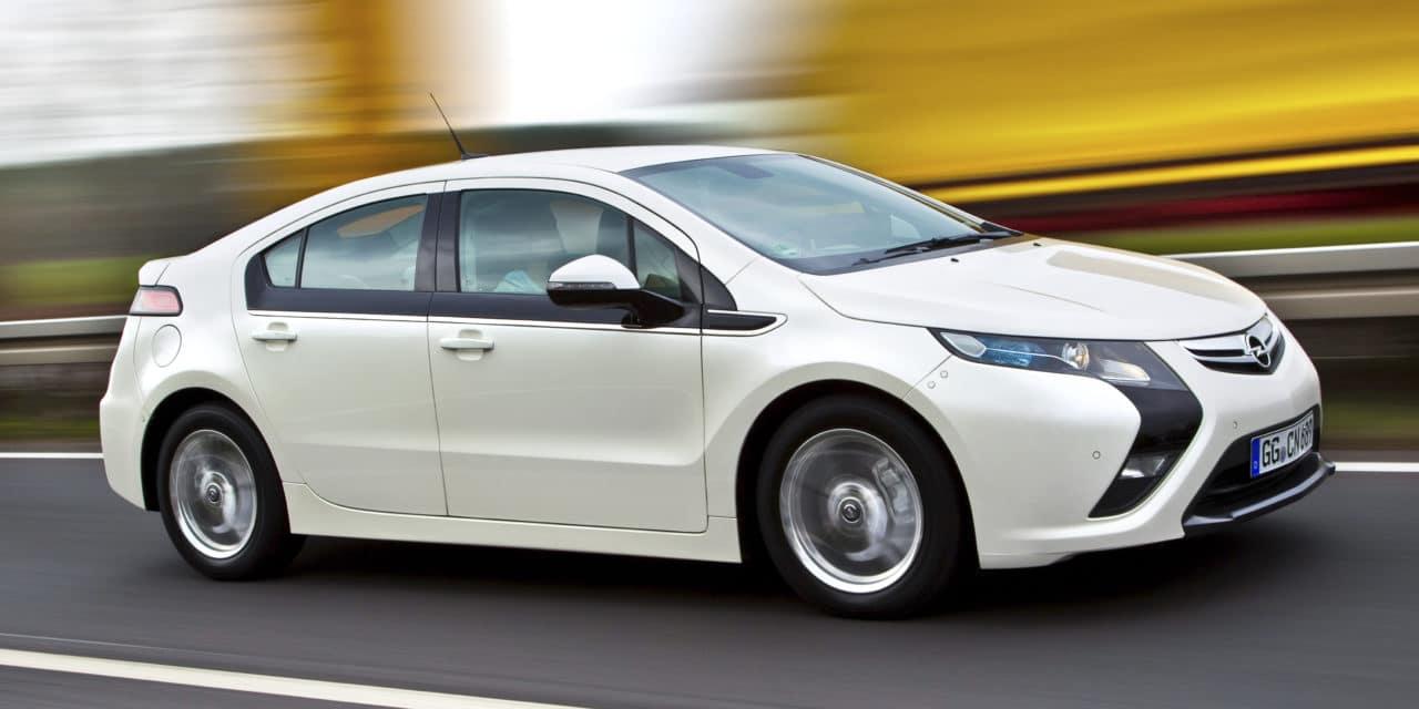Opel Ampera Celebrates Tenth Birthday