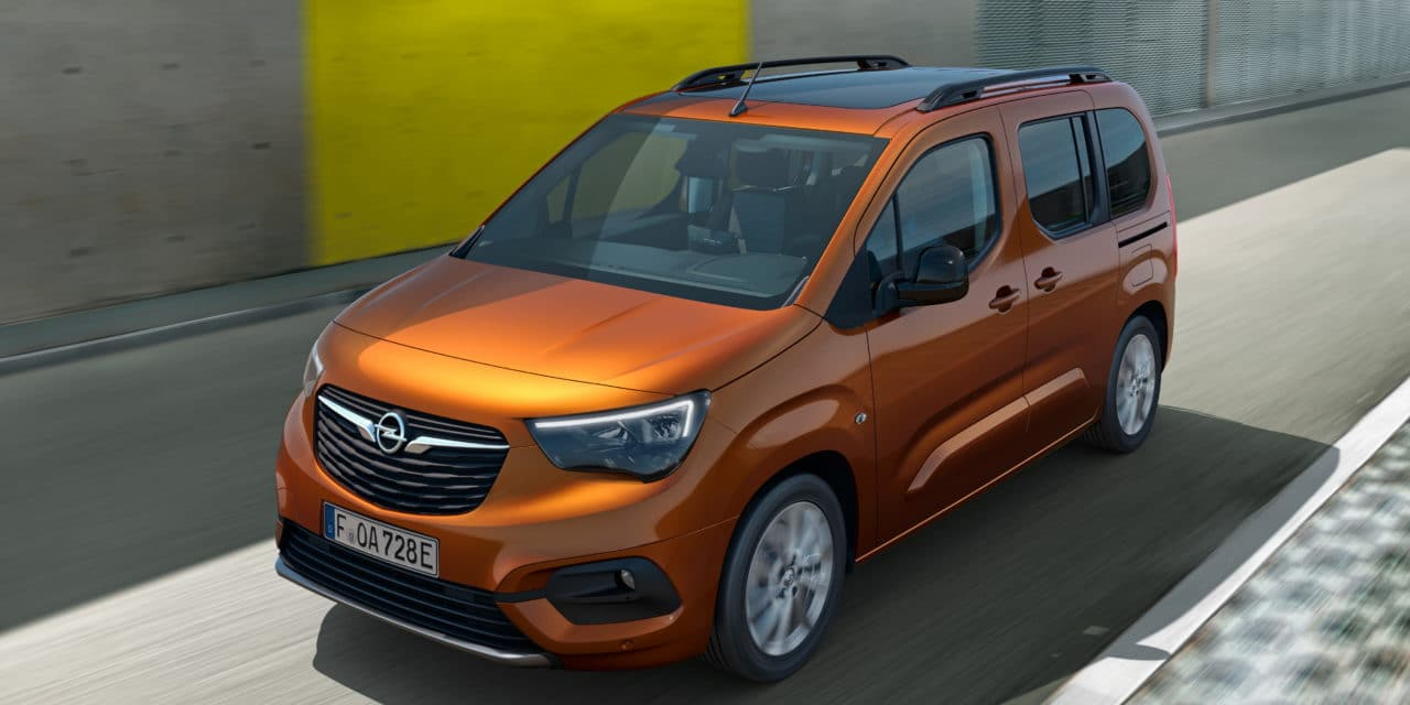 New Opel Combo-e Life Comes Strong and Energized