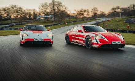 Porsche Sets 13 British Endurance Records with Taycan