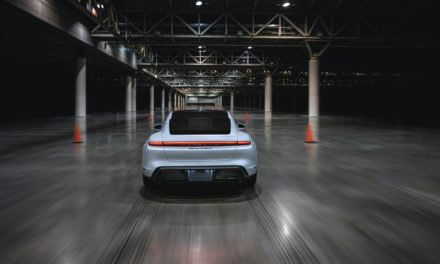 New Porsche Taycan Speed Record Goes Indoors