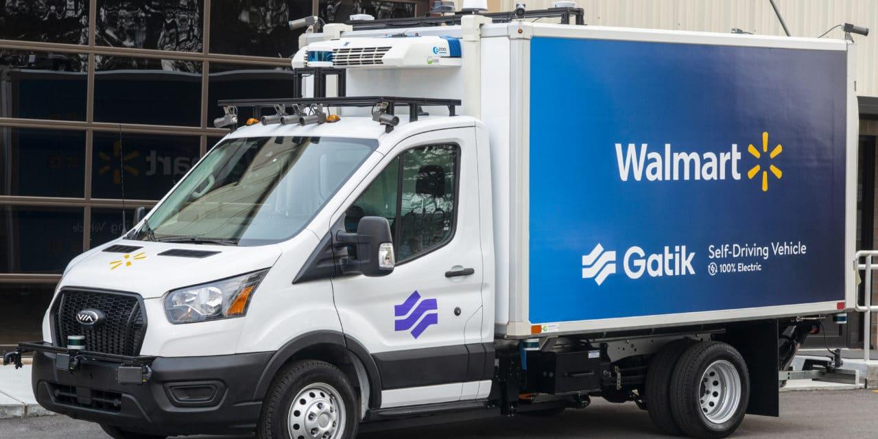 Gatik Announces Electric Autonomous Box Truck