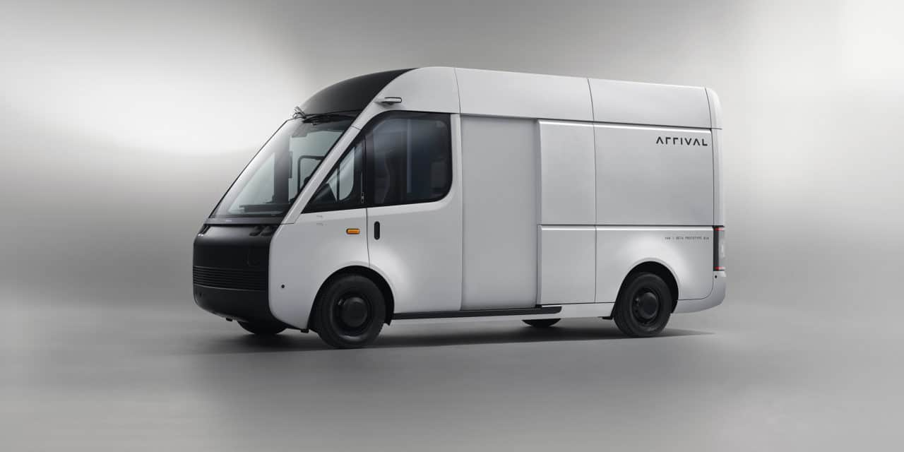 Arrival Unveils Electric Van Taking to Public Roads This Summer