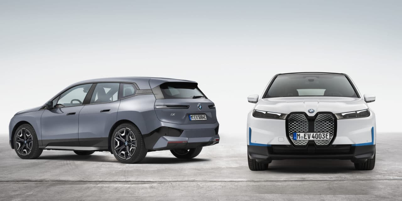 The New BMW iX xDrive40 and BMW iX xDrive50