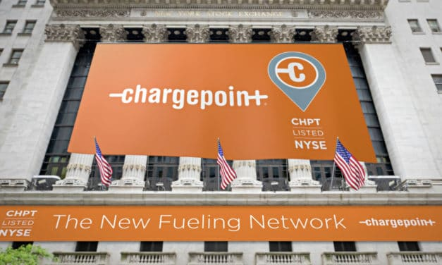 ChargePoint Becomes the World's First Publicly Traded Global EV Charging Network