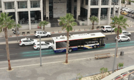 Electreon Successfully Operates Bus Charged via Electric Road in Tel Aviv