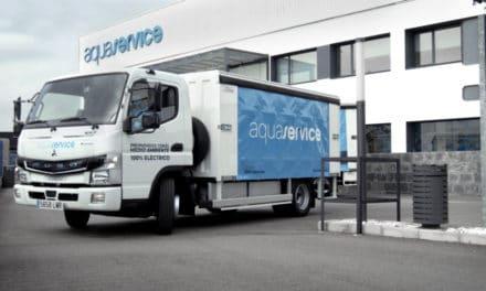 FUSO eCanter Urban Delivery Truck Debuts in Spain