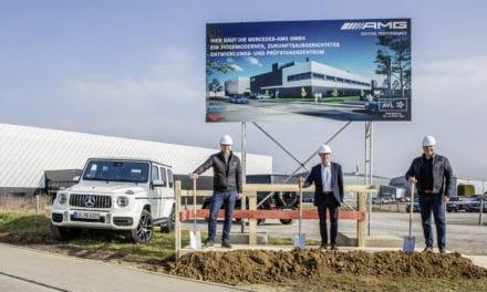 Mercedes-AMG Breaks Ground on New Technology Center