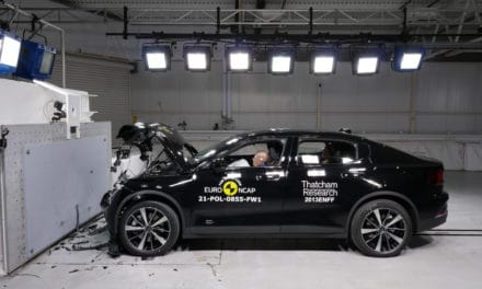 Polestar 2 Achieves 5-star Euro NCAP Safety Rating