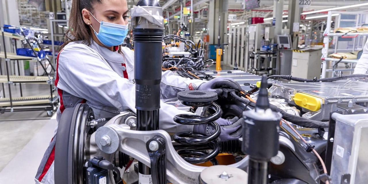 Start of Production for Audi Q4 e-tron