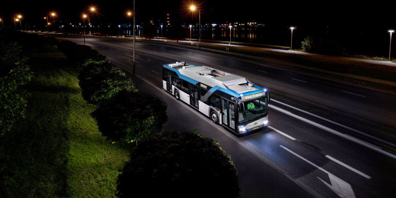 Solaris: 123 e-Buses Heading to Romania