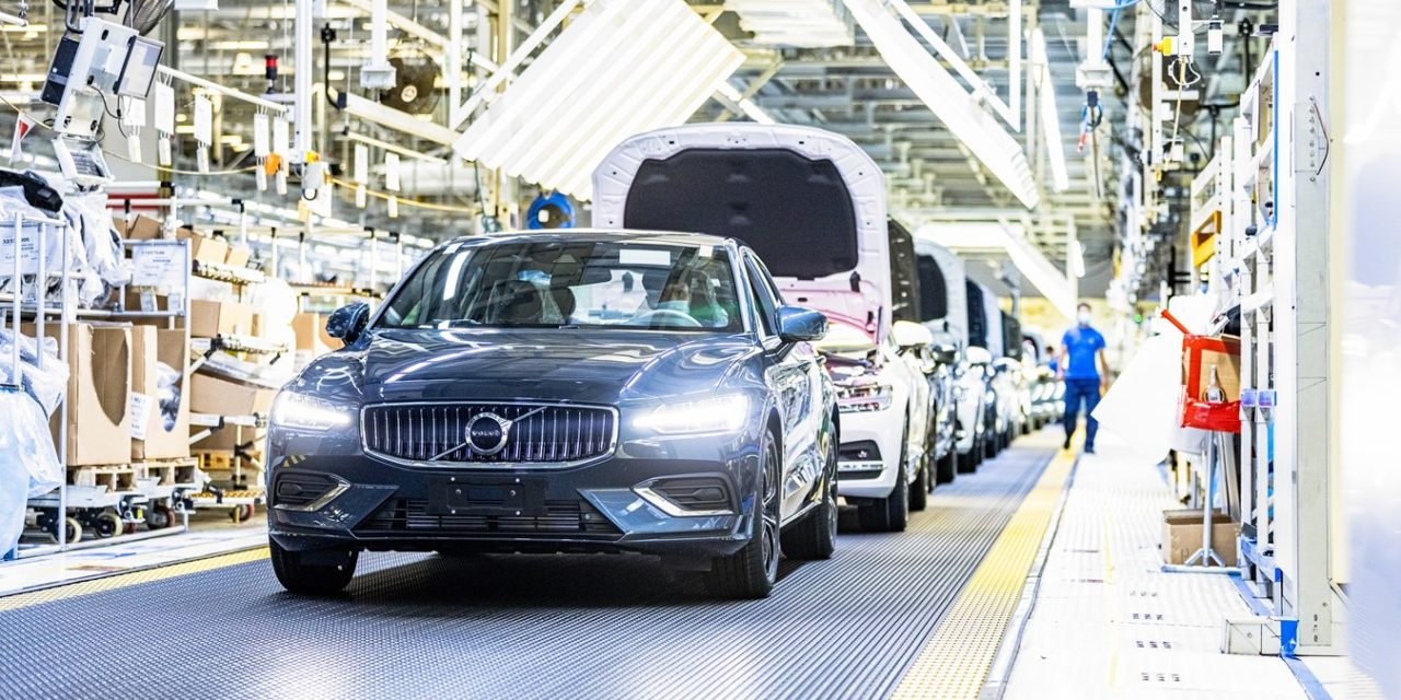 Volvo Cars Daqing Car Plant Powered by 100 Percent Climate-Neutral Electricity