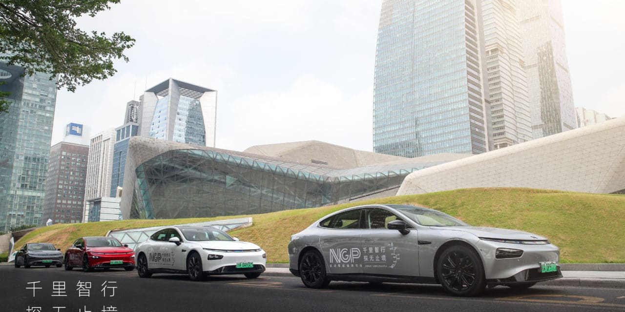 XPeng Kicks Off the Longest Autonomous Driving Expedition in China